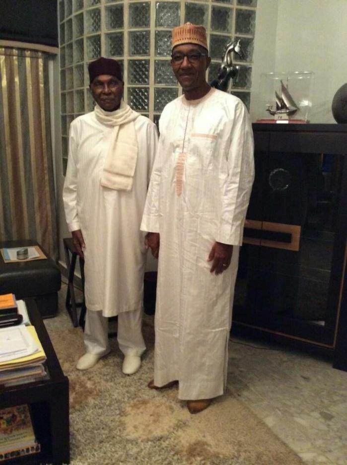 ersailles : rencontre secrète entre Me Wade et Abdoul Mbaye