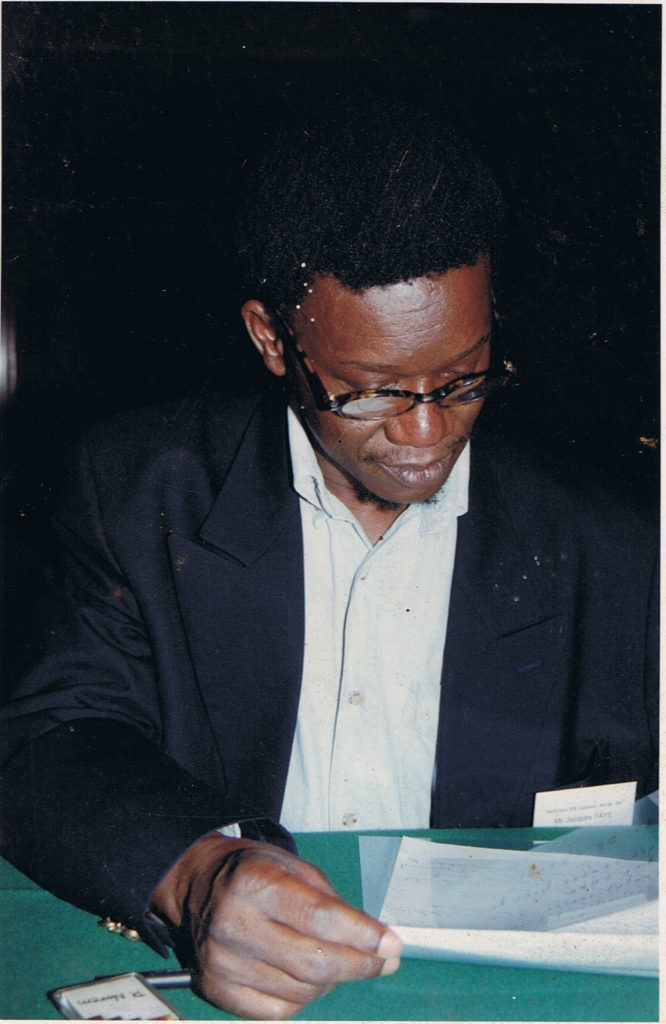 COLLOQUE INTERNATIONAL DE L'IPAR : Un vibrant  hommage rendu  au Dr Jacques Faye
