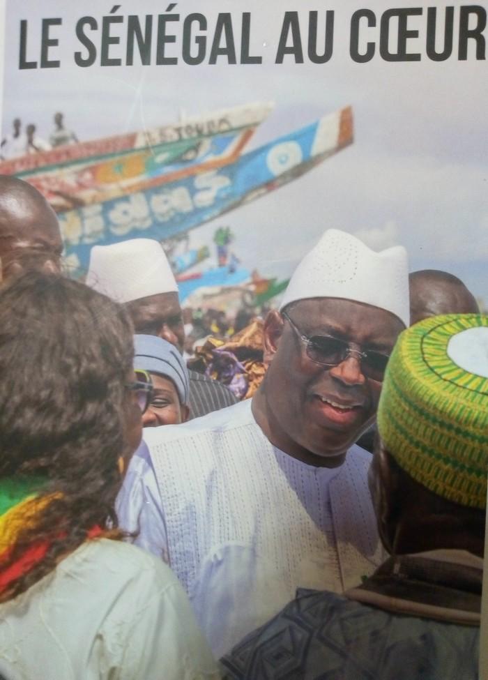 CULTURE : Macky Sall publie  son livre  intitulé « Le Sénégal au cœur »