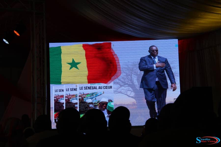 PUBLICATION  DU LIVRE DE MACKY SALL «Le Sénégal  au cœur «: Voici  quelques  photos.