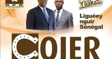DISPARITION DU PRÉSIDENT DU HCCT : La Cojer invite la jeunesse à s'inspirer d'Ousmane Tanor Dieng