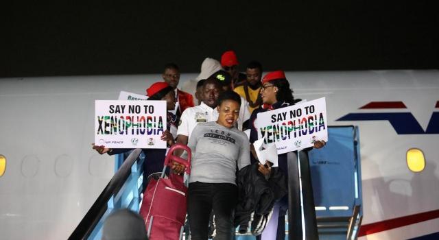 VIOLENCES XENOPHOBES: Près de 200 Nigérians rapatriés d'Afrique du Sud