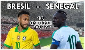 FOOTBALL : Le Sénégal  affronte le  Brésil le 10 Octobre 2019 á Singapour