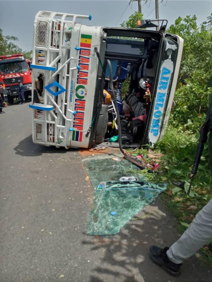 ACCIDENT DE LA CIRCULATION A KOULAYE: 03 morts et plusieurs blessés enregistrés