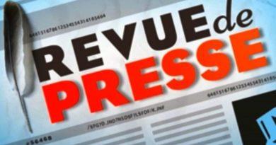REVUE DE PRESSE DU 18 OCTOBRE 2019