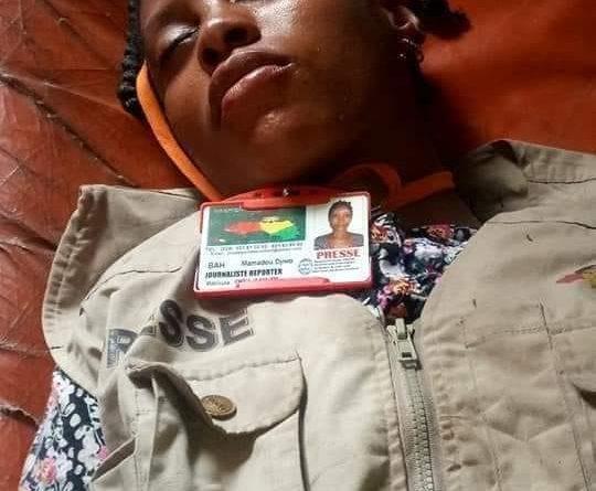 RÉPRESSION DE LA MARCHE DU FNDC EN GUINÉE: Un jeune homme abattu et une journaliste atteinte par balle