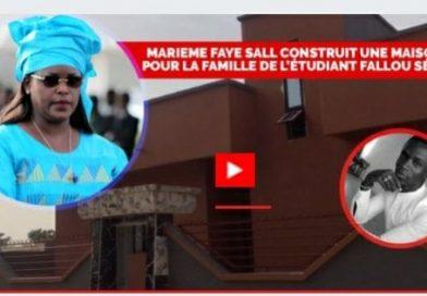 SOCIÉTÉ : Marième Faye Sall a construit la maison des parents de Fallou Sène