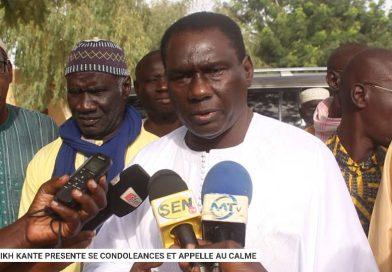 FATICK : Le Dr Cheikh Kanté présente ses condoléances et  joue la carte de l'apaisement