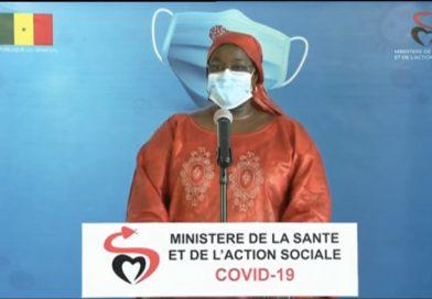 SITUATION COVID-19 AU SÉNÉGAL: 97 cas positifs, 20 communautaires et 96 guéris