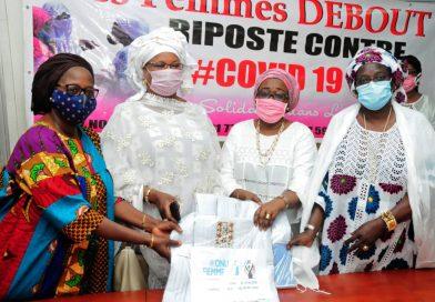 COVID-19 : Les femmes Debout contre la pandémie du Coronavirus