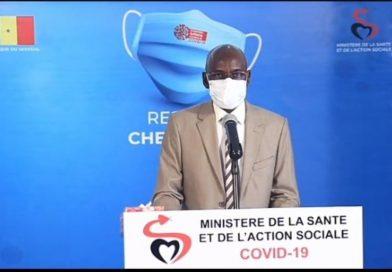POINT DU JOUR DE LA  COVID-19 AU SÉNÉGAL : 21 nouveaux cas, 1 décès, 100 guéris