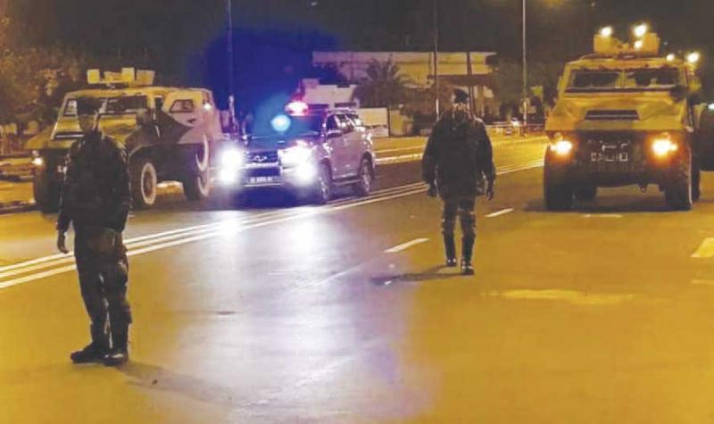 ÉTAT D'URGENCE :DAKAR et Thies sous le couvre-feu pour  8 jours