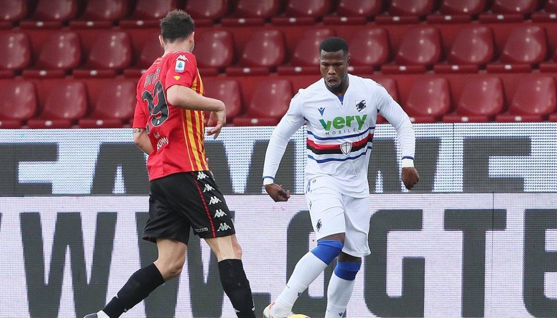 Serie A : Keita Baldé marque encore et offre le point du nul à la Sampdoria