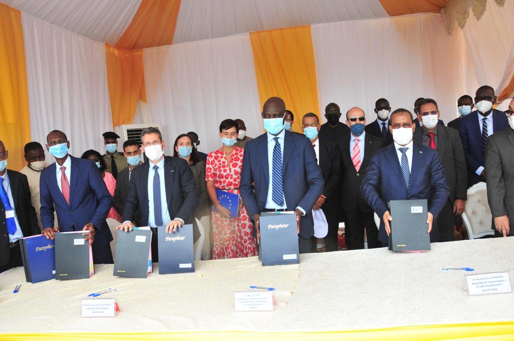 PONT DE  ROSSO : Le Sénégal et la Mauritanie signent  un contrat de construction
