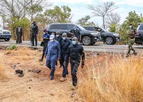 ACCIDENT DE LA ROUTE DES JOURNALSTES  DE LERALT.NET: Macky  ordonne  l' évacuation des  blessés à  Dakar