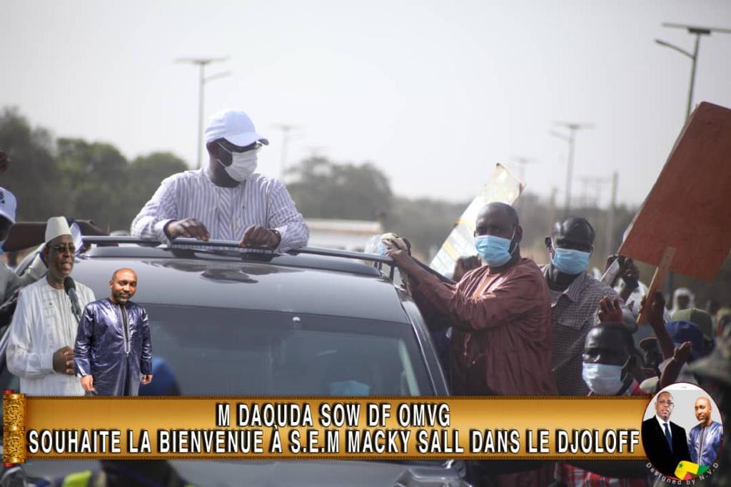 TOURNEE ECONOMIQUE DU CHEF DE L'ETAT AU NORD : Daouda SOW réussit le pari de la mobilisation à Barkédji