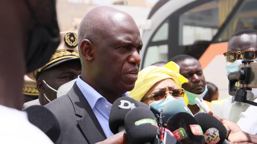 BRT : Mansour Faye promet la circulation effective en 2022