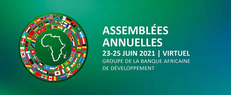 Les Assemblées annuelles de la BAD se tiendront en visioconférence du 23 au 25 juin 2021