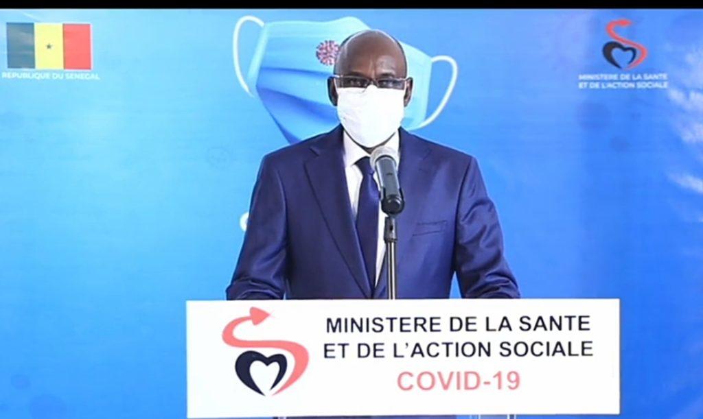 COVID-19 AU SENEGAL : 624 cas  communautaires, 76 cas grave et  14 morts