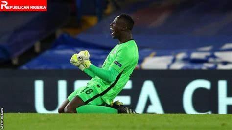 Le gardien sénégalais Édouard Mendy élu gardien UEFA de l'année