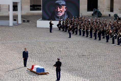 HOMMAGE A BELMONDO: La France fait un dernier adieu à son «As des as»