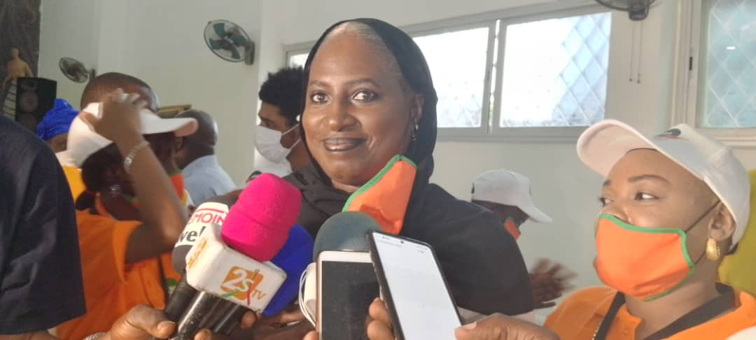 COMMUNE DES SICAP : Fatou Matar Diop candidate