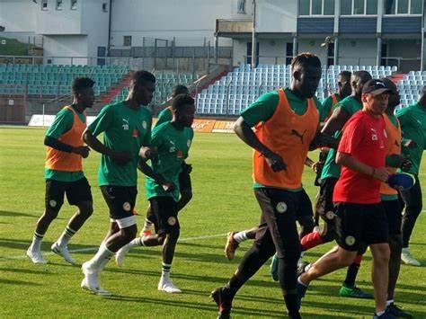 FOOTBALL : Huit Lions sont arrivés à Saly lundi